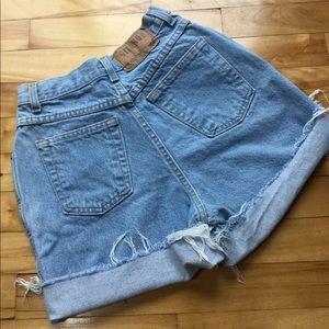 Tiny Vintage Light Wash Gitano Shorts